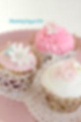シュガークラフト、オーダー、カップケーキ、シュガーケーキ、バタークリーム