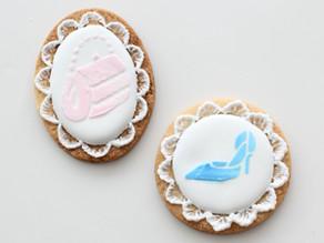 オリジナルステンシルシートのアイシングクッキー