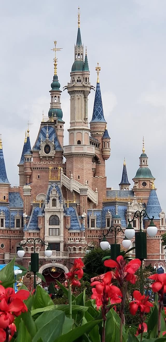 上海ディズニーランド シンデレラ城