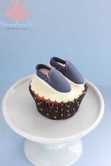 VANSのスリッポンのカップケーキ cupcake
