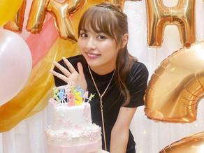 内田理央さんバースデーイベント用シュガーケーキを制作させていただきました。