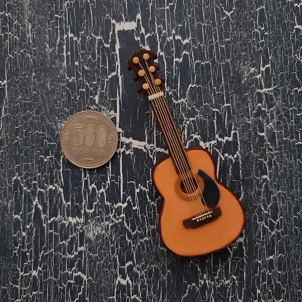 シュガークラフトで作ったギター