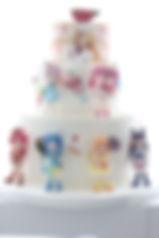 プリキュア、シュガークラフト、オーダー舞台挨拶用ケーキ