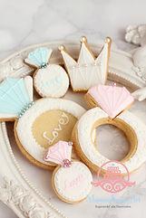 アイシングクッキー、ウェディング,オーダー,リング