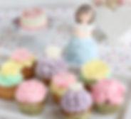 カップケーキドール、オーダー、シュガークラフト、カップケーキ