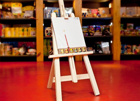 Kit cavalete pintura