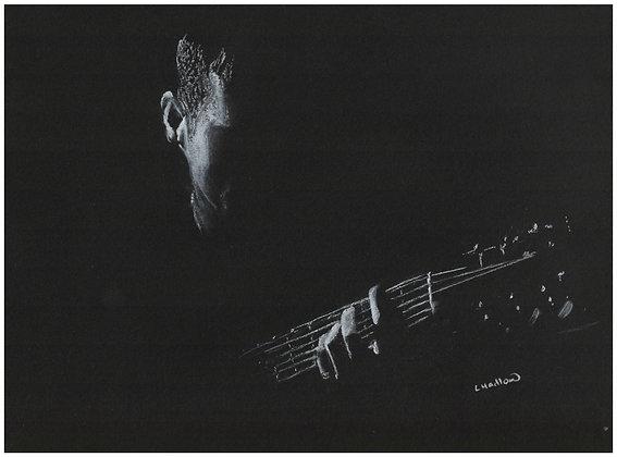 The Guitarist (PRINT)