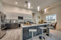 Kitchen GRAY AND WHITE