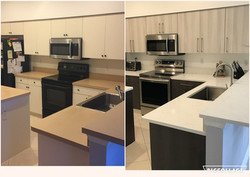BEFORE AND AFTER UPDATE KITCHEN