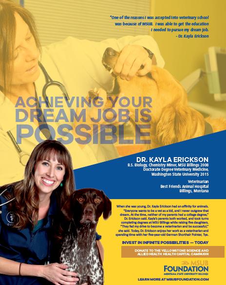 MSUB's Dr. Kayla Erickson