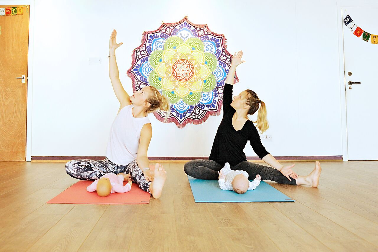 Postnatal Yoga - Mondays Uckfield