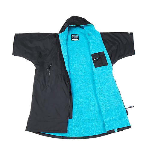 DRYROBE ADVANCE SHORT SLEEVE - BLACK / BLUE
