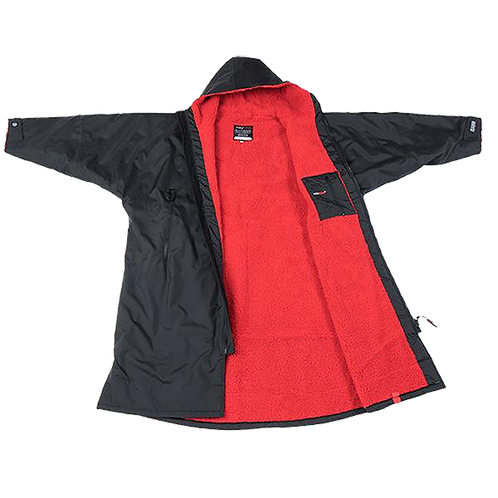 DRYROBE ADVANCE LONG SLEEVE - BLACK / RED