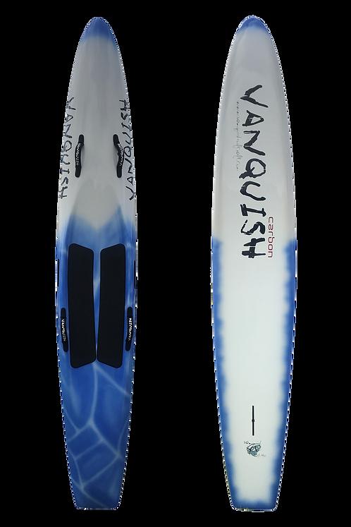 "VANQUISH 10'6"" CARBON RACEBOARD BLUE BLOK"