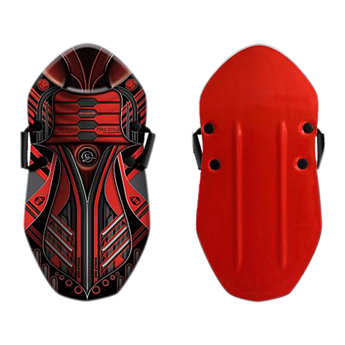 SNOW / SAND SLED BUG RED 36""