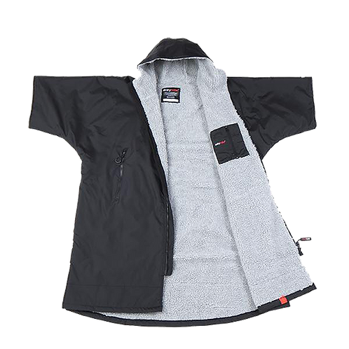 DRYROBE ADVANCE SHORT SLEEVE - BLACK / GREY