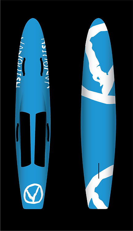 VANQUISH 8'10 NIPPER BOARD BLUE WHITE V