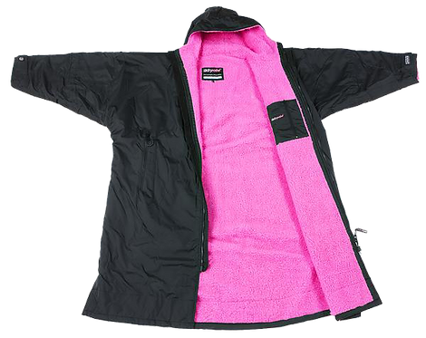 DRYROBE ADVANCE LONG SLEEVE - BLACK / PINK