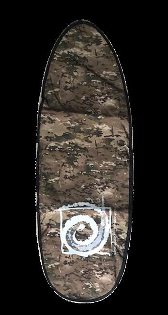 VANQUISH 6'6  NIPPER BOARD BAG GREY CAMO