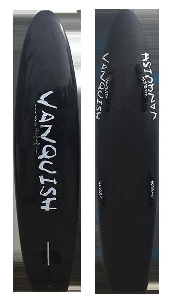 VANQUISH 6'6 NIPPER BOARD BLACK SOLID