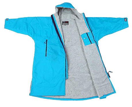 DRYROBE ADVANCE LONG SLEEVE - SKY BLUE / GREY