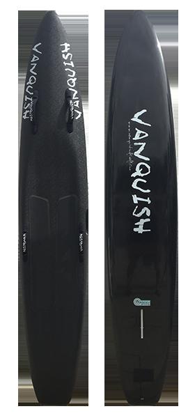 VANQUISH 8'10 NIPPER BOARD BLACK SOLID