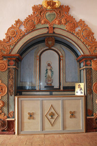 Altar lateral esquerdo