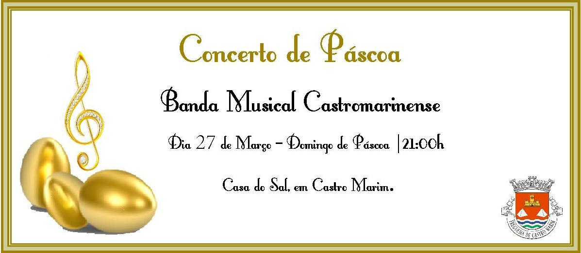 concerto pascoa