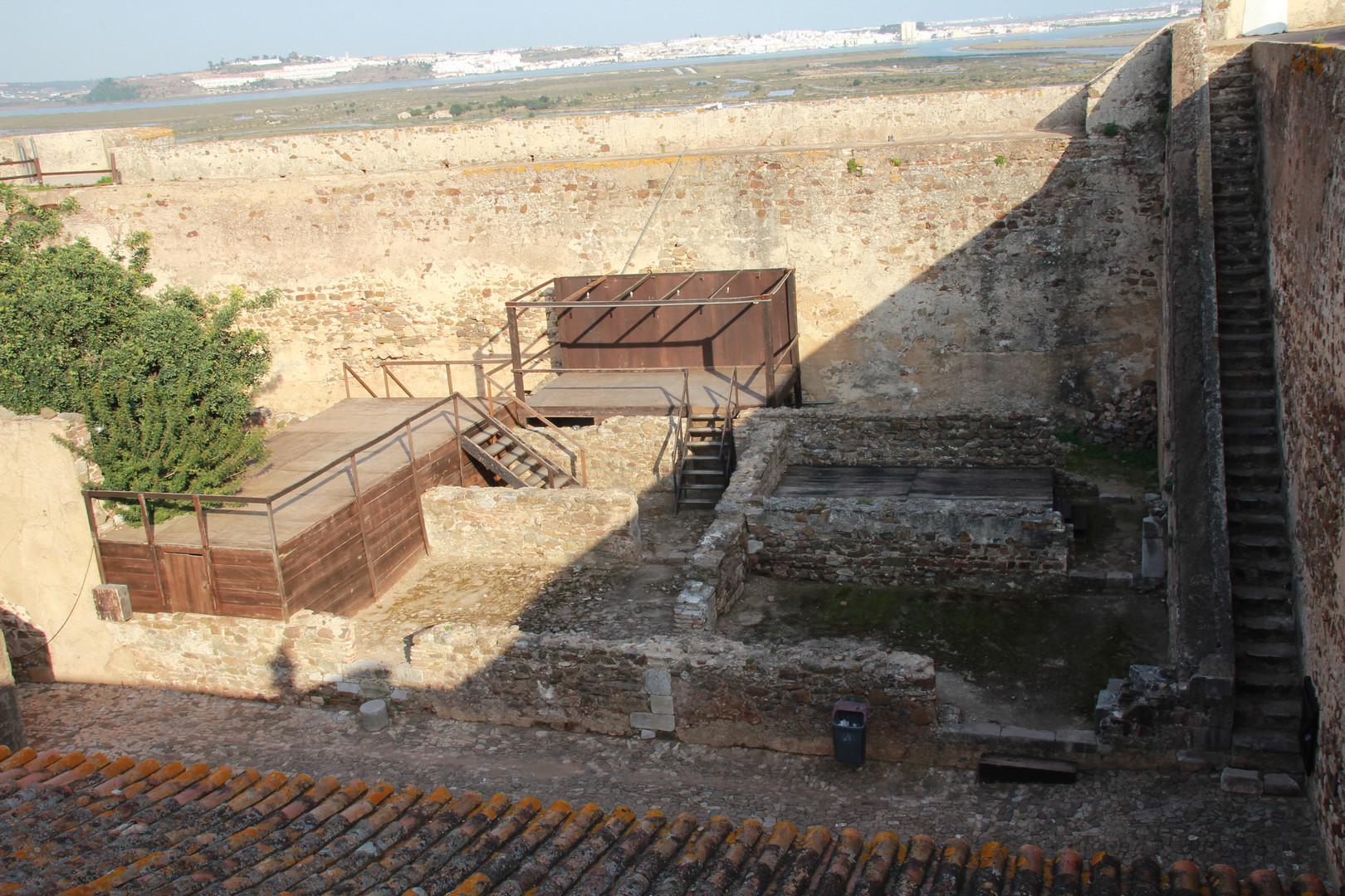 Interior do Castelejo