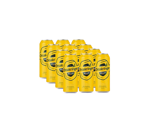 12er Pack Ottakringer Helles 0,5l Dose