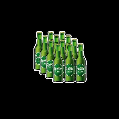 12er Pack Gösser Märzen 0,33l Flasche