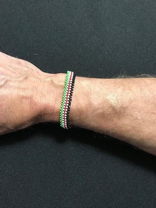 "8"" Small Kenya Color Snap Bracelet"