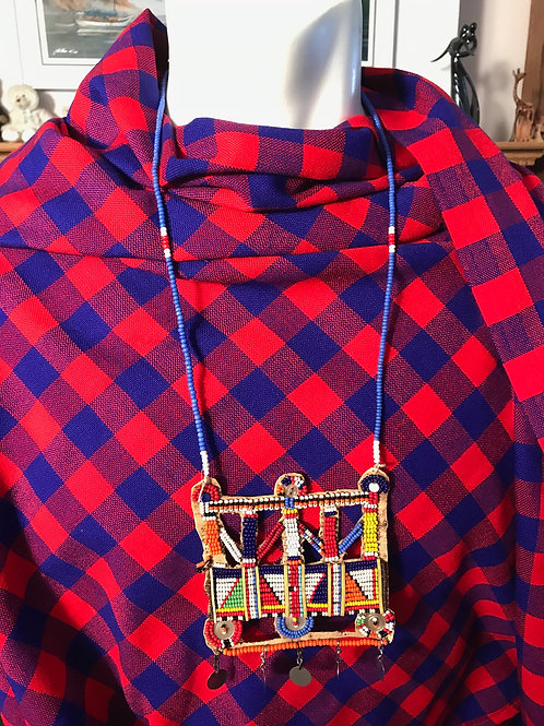 """26"""" Beaded Square Necklace"""