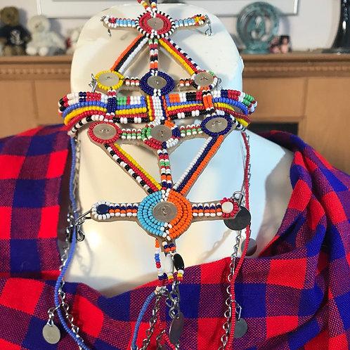 Antique Maasai Wedding Head Band