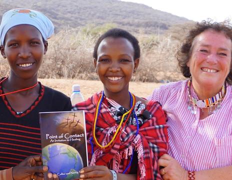 Kathy with Maasai.JPG