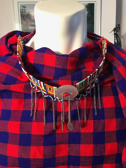 Necklace with Button