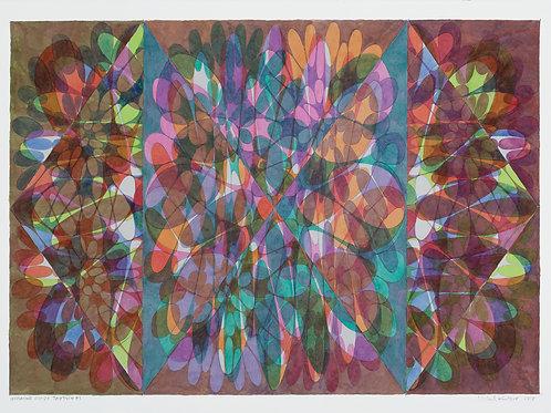 """Inverting Ovoids Triptych"" - Michael Knutson"