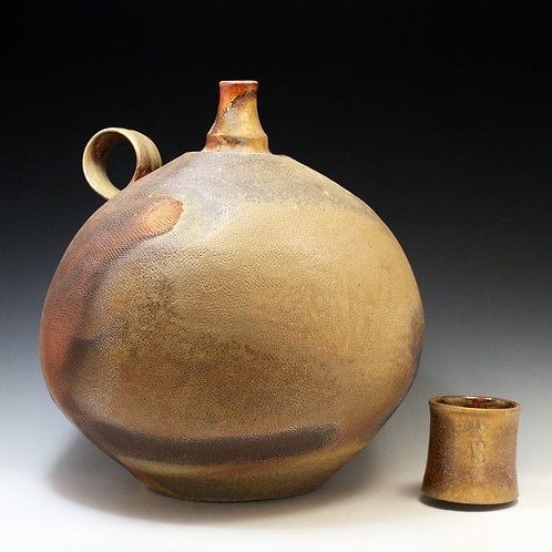 Large Spirit Bottle with Cup Lid 3