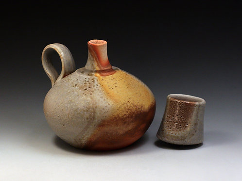 Small Spirit Bottle with Cup Lid 23