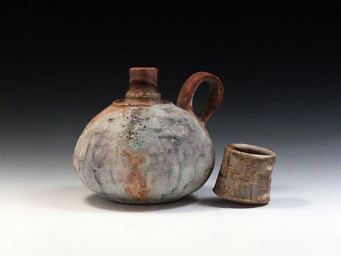 Small Spirit Bottle with Cup Lid 11
