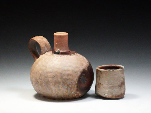 Small Spirit Bottle with Cup Lid 21