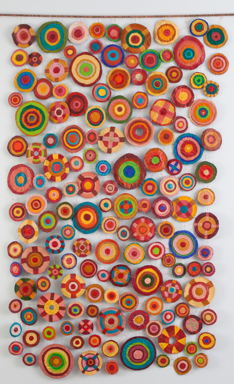 Sewing Circles (Red side)