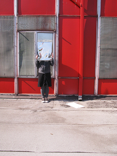Looking and Hiding : Red Building.jpg