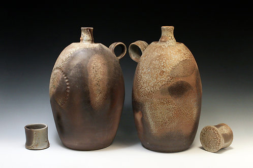 Medium Spirit Bottles with Cup Lids 4 & 5