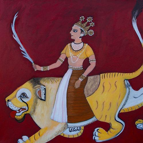 The Great Goddess Aslshwari