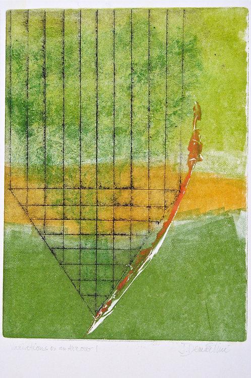 """Variations on an Arrow 1"" - Jana Demartini"