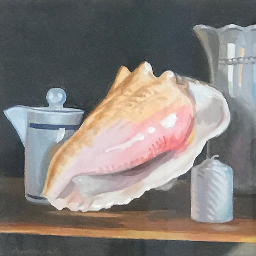 """Still Life with Shell"" - Paul Missal"