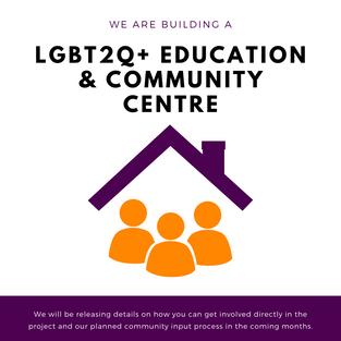 We're building a centre