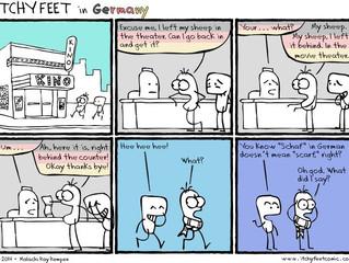 Language learning and awkward moments!