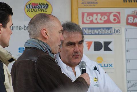 Walter Planckaert en Michel Wuyts